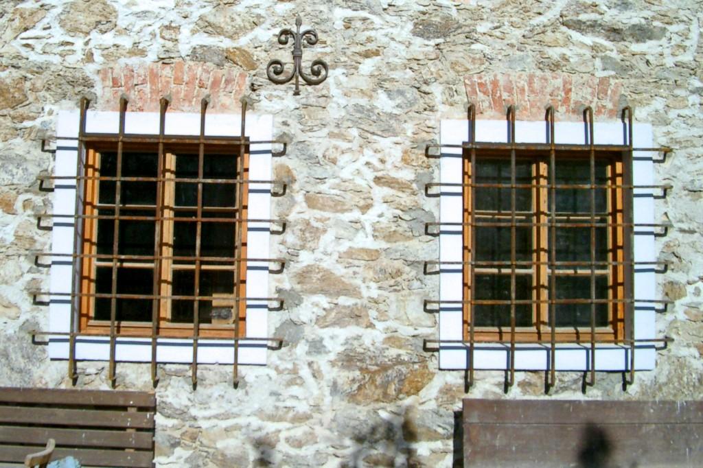 Fenstergitter, 25ger Quadrat, gelocht